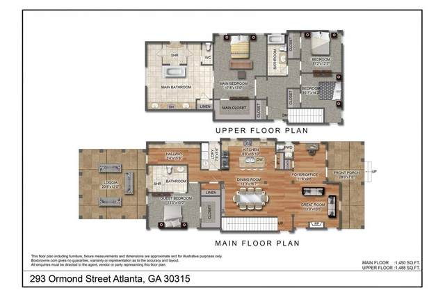 293 Ormond Street SE, Atlanta, GA 30315 (MLS #6780554) :: The Zac Team @ RE/MAX Metro Atlanta