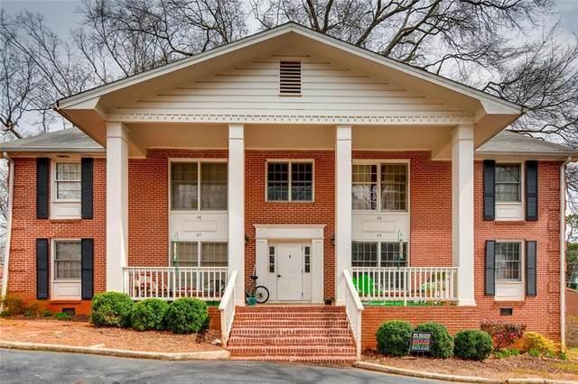 135 East Hill Street #25, Decatur, GA 30030 (MLS #6783014) :: RE/MAX Paramount Properties
