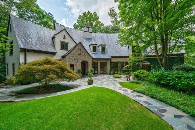 4000 Randall Mill Road NW, Atlanta, GA 30327 (MLS #6785430) :: Kennesaw Life Real Estate