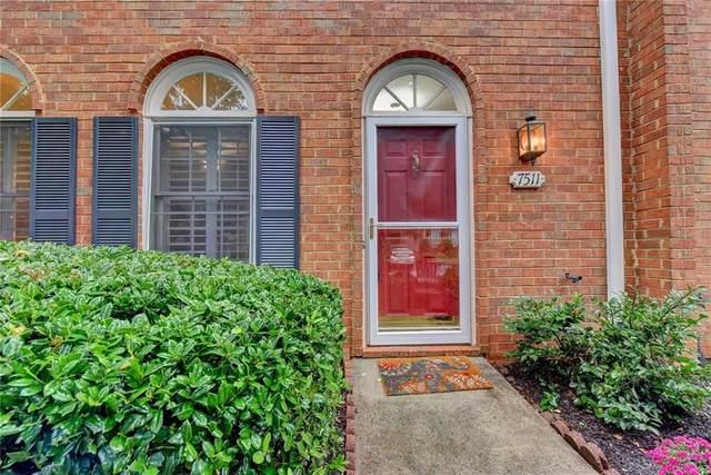 7511 Saint Charles Square C5, Roswell, GA 30075 (MLS #6786560) :: Charlie Ballard Real Estate