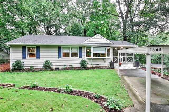 1365 Twin Oaks Circle SE, Smyrna, GA 30080 (MLS #6787280) :: Rock River Realty