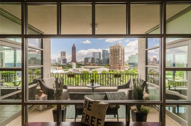 250 Park Avenue West NW #607, Atlanta, GA 30313 (MLS #6787535) :: Dillard and Company Realty Group