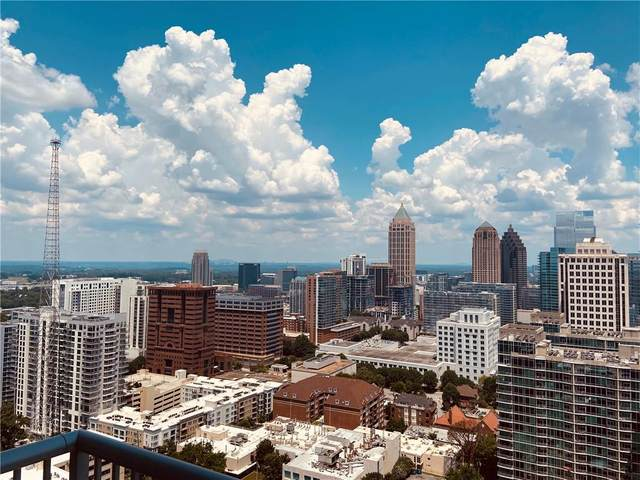 855 Peachtree Street NE #2910, Atlanta, GA 30308 (MLS #6789700) :: Vicki Dyer Real Estate
