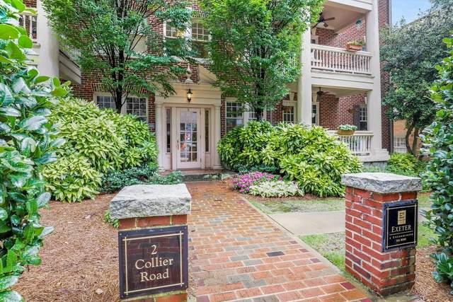 2 Collier Road NW #3, Atlanta, GA 30309 (MLS #6789968) :: RE/MAX Paramount Properties