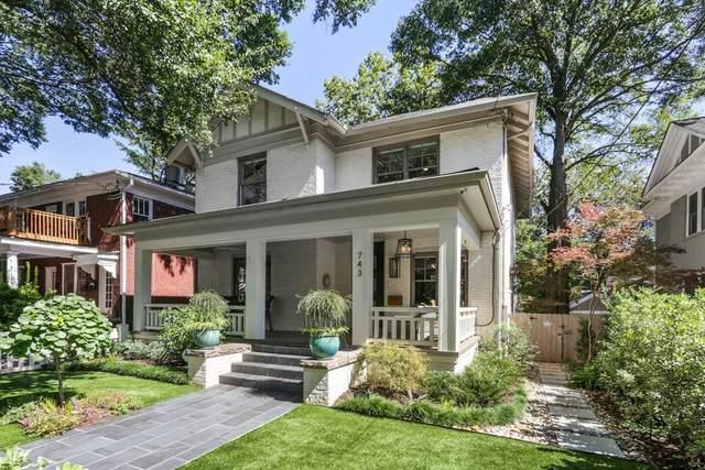 743 Argonne Avenue NE, Atlanta, GA 30308 (MLS #6790187) :: Tonda Booker Real Estate Sales