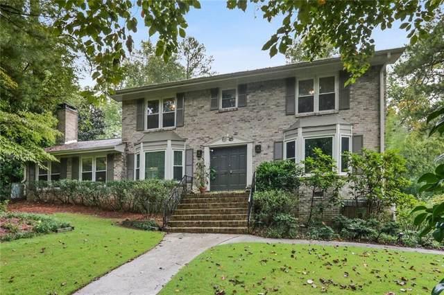 1561 Chateau Drive, Dunwoody, GA 30338 (MLS #6790361) :: North Atlanta Home Team