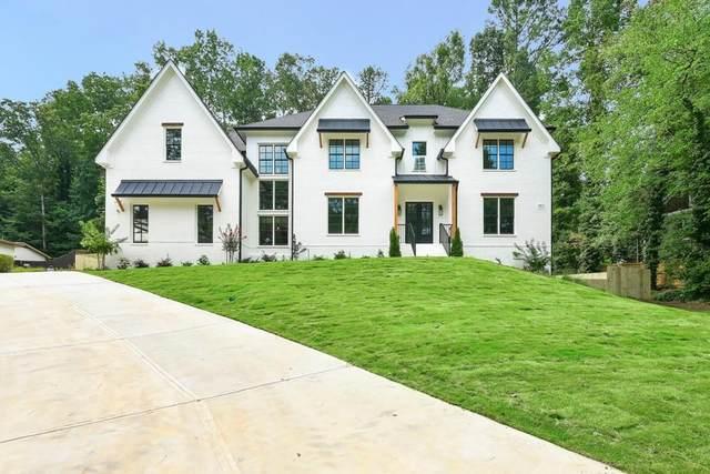 4211 Summit Drive, Marietta, GA 30068 (MLS #6790786) :: Tonda Booker Real Estate Sales