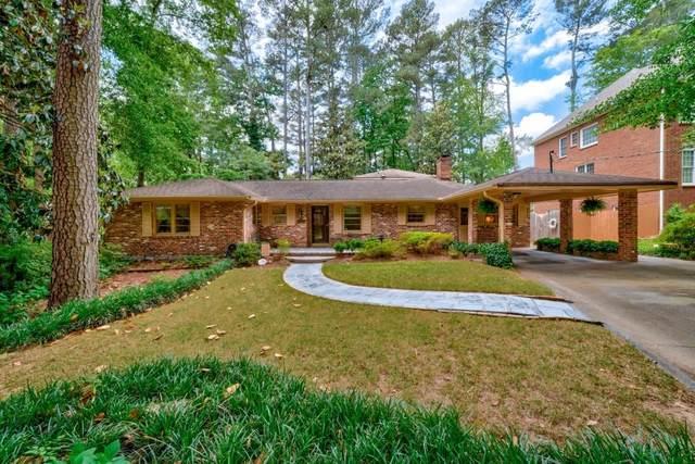 1886 Ravenwood Way NE, Atlanta, GA 30329 (MLS #6791777) :: Tonda Booker Real Estate Sales