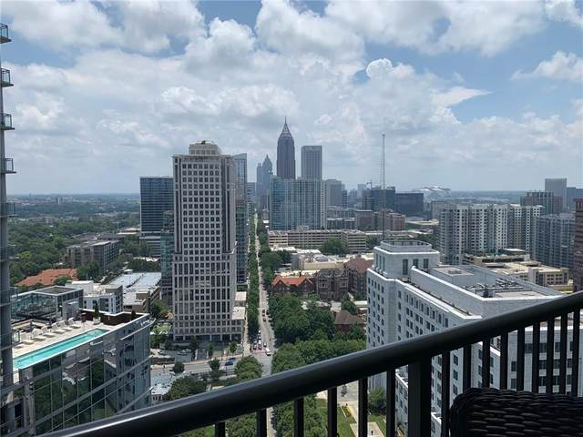 1080 Peachtree Street NE #2707, Atlanta, GA 30309 (MLS #6791786) :: The Zac Team @ RE/MAX Metro Atlanta
