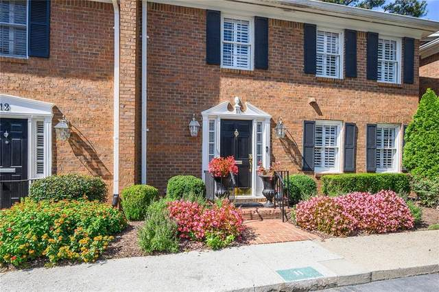 4620 Wieuca Road NE #11, Atlanta, GA 30342 (MLS #6793385) :: Keller Williams Realty Cityside