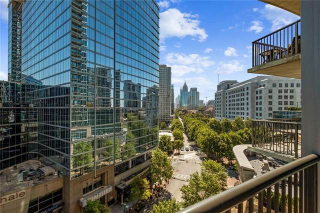 1080 Peachtree Street NE #806, Atlanta, GA 30309 (MLS #6795792) :: Good Living Real Estate