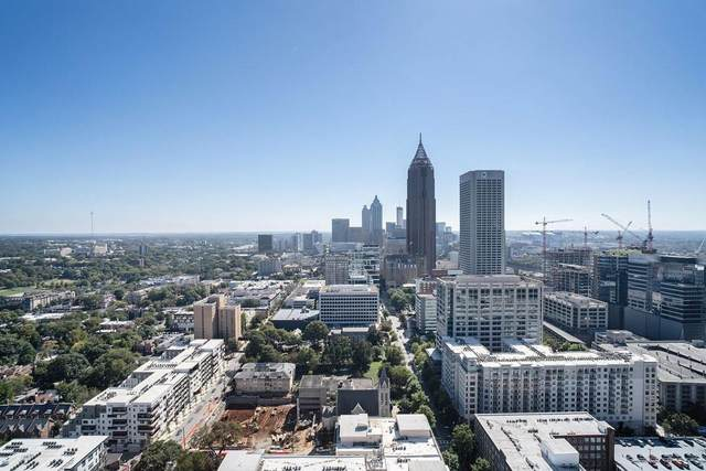 855 Peachtree Street #3505, Atlanta, GA 30308 (MLS #6796010) :: Vicki Dyer Real Estate