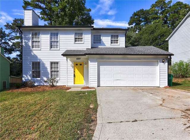 437 Sheppard Crook, Stone Mountain, GA 30083 (MLS #6796557) :: North Atlanta Home Team
