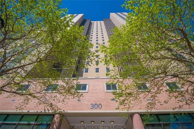 300 W Peachtree Street 21J, Atlanta, GA 30308 (MLS #6796654) :: The Zac Team @ RE/MAX Metro Atlanta