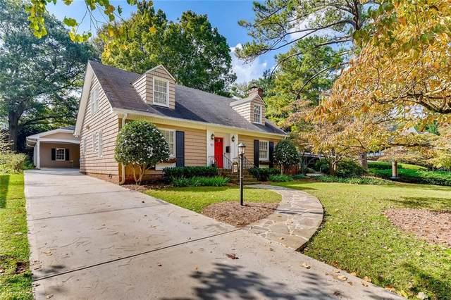 93 Clarendon Avenue, Avondale Estates, GA 30002 (MLS #6796977) :: Tonda Booker Real Estate Sales