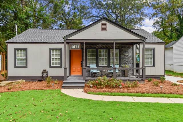 1671 North Avenue NW, Atlanta, GA 30318 (MLS #6797169) :: Tonda Booker Real Estate Sales