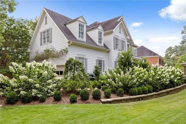4495 E Brookhaven Drive E, Atlanta, GA 30319 (MLS #6797362) :: Tonda Booker Real Estate Sales