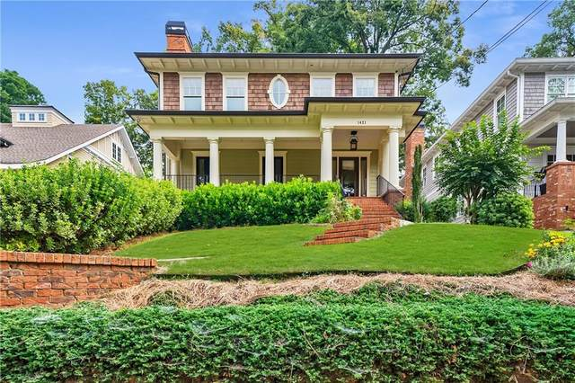 1421 Wessyngton Road NE, Atlanta, GA 30306 (MLS #6797686) :: North Atlanta Home Team