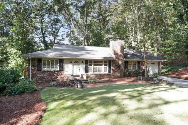 4660 Canyon Creek Trail, Sandy Springs, GA 30342 (MLS #6798378) :: The Hinsons - Mike Hinson & Harriet Hinson