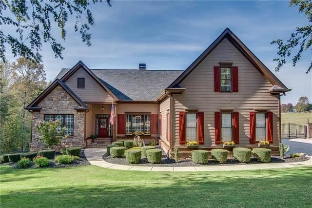 128 Gold Leaf Terrace, Dawsonville, GA 30534 (MLS #6799029) :: Lucido Global