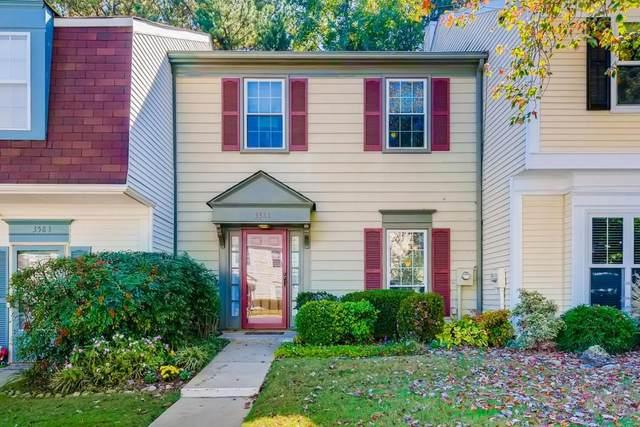 3581 Monticello Commons #3581, Peachtree Corners, GA 30092 (MLS #6799350) :: North Atlanta Home Team
