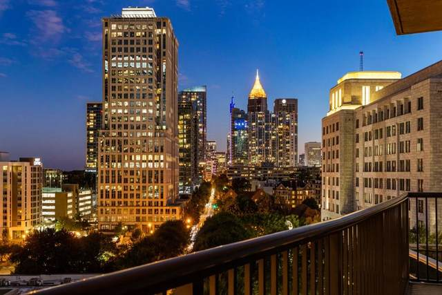 1080 Peachtree Street NE #910, Atlanta, GA 30309 (MLS #6799614) :: Good Living Real Estate