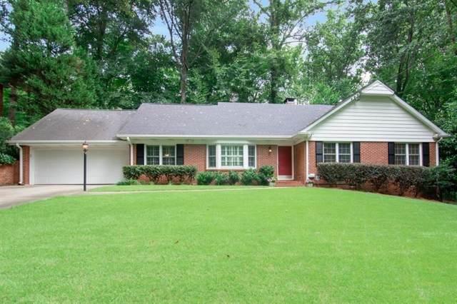 380 Forest Hills Drive, Atlanta, GA 30342 (MLS #6799911) :: North Atlanta Home Team