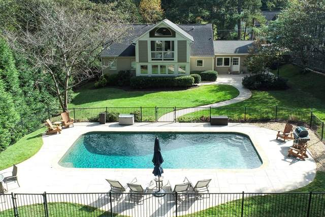 1824 Wellbourne Drive, Atlanta, GA 30324 (MLS #6800221) :: Tonda Booker Real Estate Sales