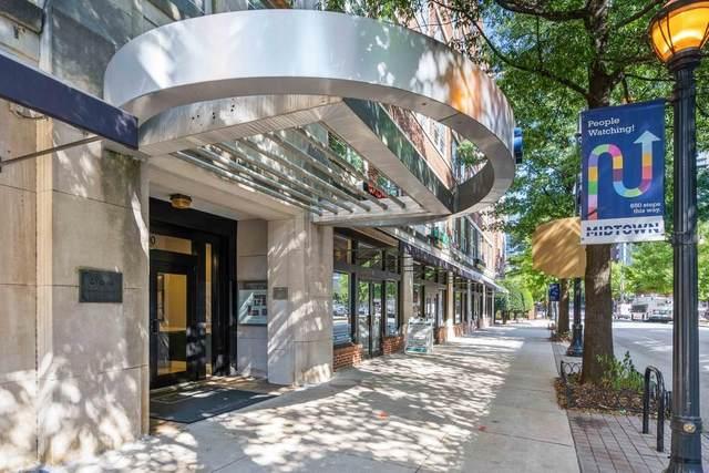 800 Peachtree Street NE #1311, Atlanta, GA 30308 (MLS #6800280) :: Tonda Booker Real Estate Sales