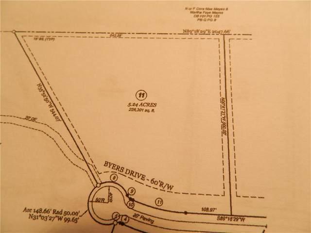 0 Byers Drive, Ball Ground, GA 30107 (MLS #6804055) :: Path & Post Real Estate