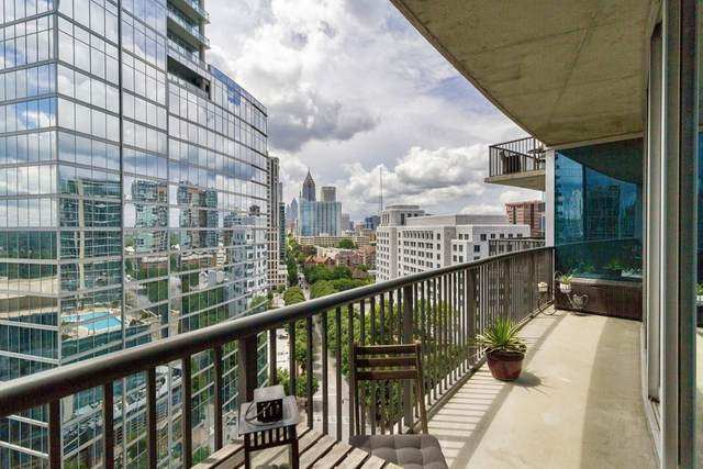 1080 Peachtree NE #1506, Atlanta, GA 30309 (MLS #6805685) :: The Zac Team @ RE/MAX Metro Atlanta