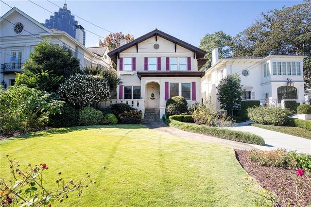 44 Peachtree Circle NE, Atlanta, GA 30309 (MLS #6805989) :: Dillard and Company Realty Group