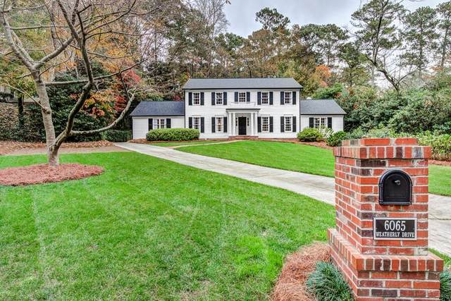6065 Weatherly Drive, Atlanta, GA 30328 (MLS #6806681) :: KELLY+CO