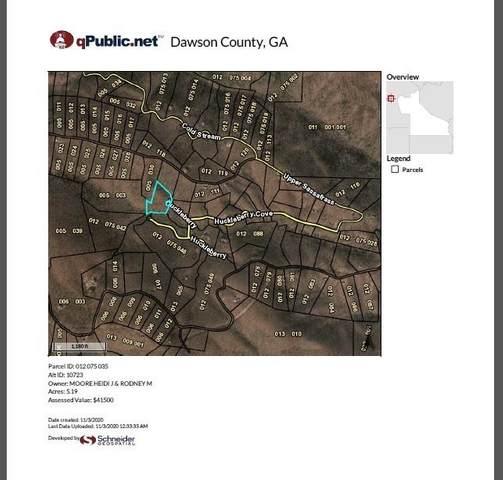 0 Huckleberry Cove Road, Jasper, GA 30143 (MLS #6806753) :: North Atlanta Home Team
