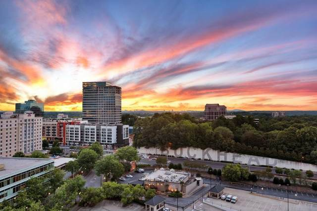 3334 Peachtree Road NE #1105, Atlanta, GA 30326 (MLS #6807651) :: Dillard and Company Realty Group