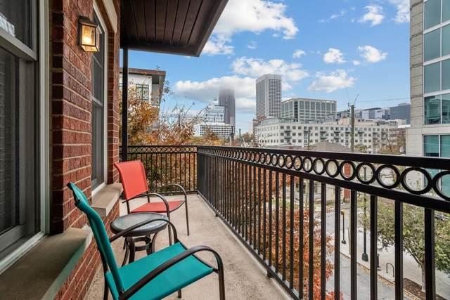 850 Piedmont Avenue NE #1410, Atlanta, GA 30308 (MLS #6808416) :: The North Georgia Group