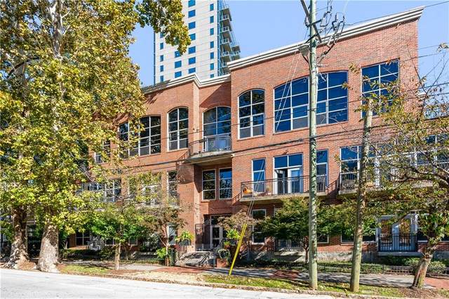 1023 Juniper Street NE #203, Atlanta, GA 30309 (MLS #6810008) :: The Justin Landis Group