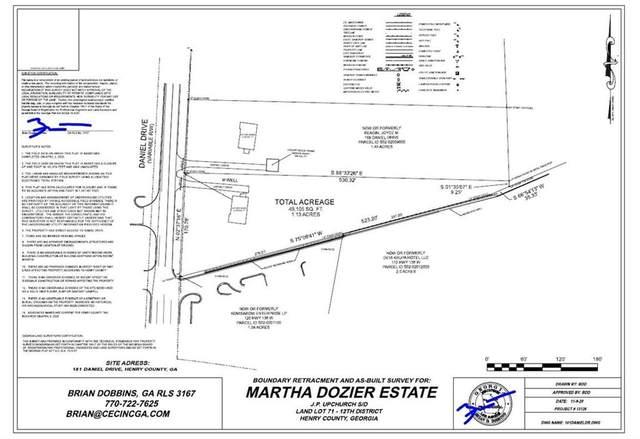 181 Daniel Drive, Stockbridge, GA 30281 (MLS #6810243) :: RE/MAX Prestige