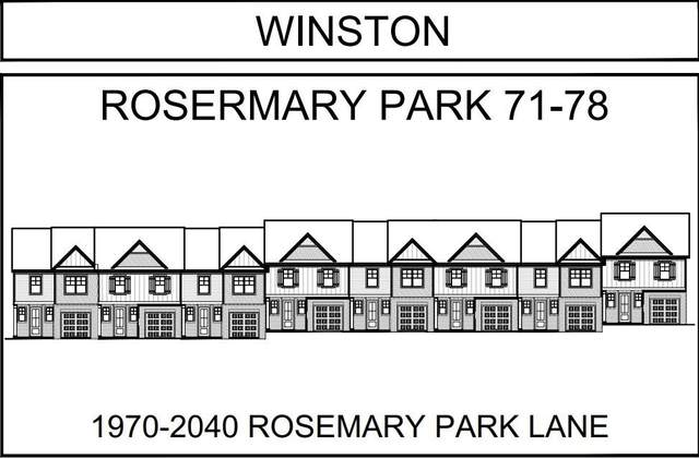 2000 Rosemary Park Lane #75, Lawrenceville, GA 30046 (MLS #6810404) :: RE/MAX Center