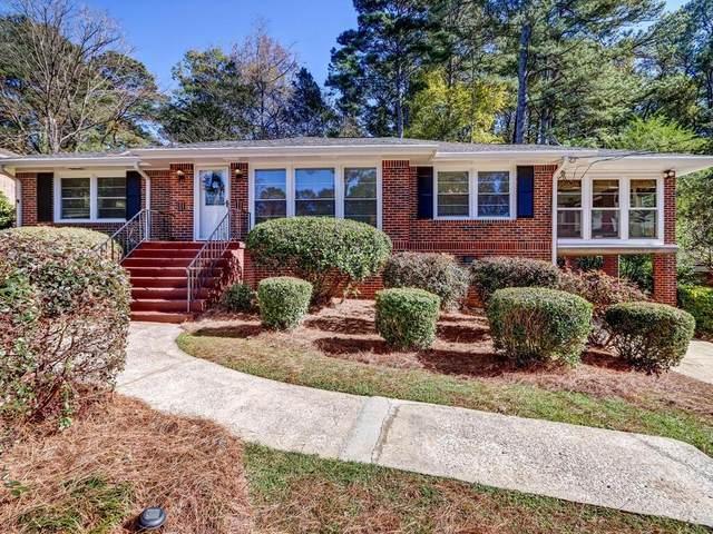 1443 N Amanda Circle NE, Atlanta, GA 30329 (MLS #6810684) :: Tonda Booker Real Estate Sales