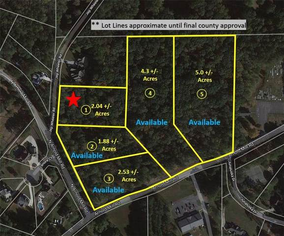Lot 1 Jep Wheeler Road, Woodstock, GA 30188 (MLS #6811464) :: Path & Post Real Estate