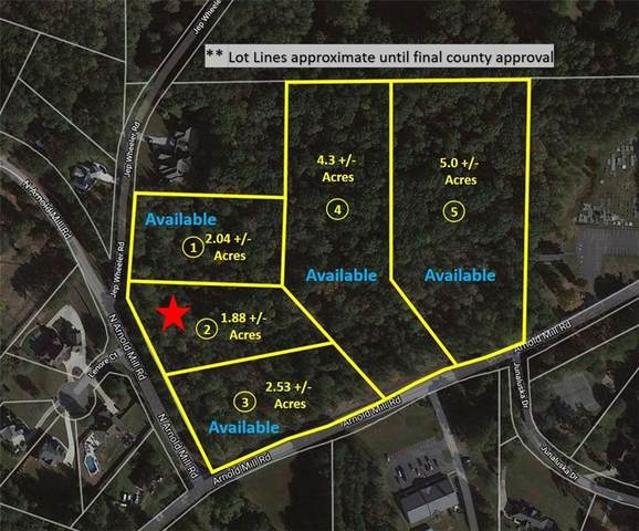 Lot 2 N Arnold Mill Road, Woodstock, GA 30188 (MLS #6811514) :: Path & Post Real Estate