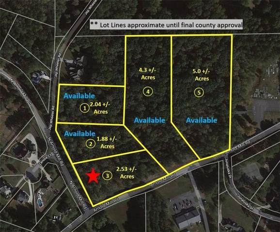 Lot 3 N Arnold Mill Road, Woodstock, GA 30188 (MLS #6811535) :: Path & Post Real Estate