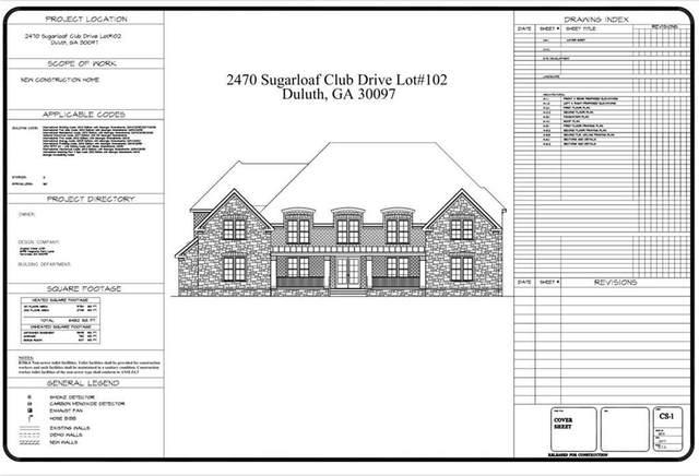 2470 Sugarloaf Club Drive, Duluth, GA 30097 (MLS #6811614) :: Tonda Booker Real Estate Sales