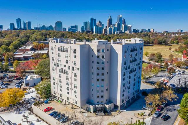 587 Virginia Avenue #616, Atlanta, GA 30306 (MLS #6812490) :: The Realty Queen & Team