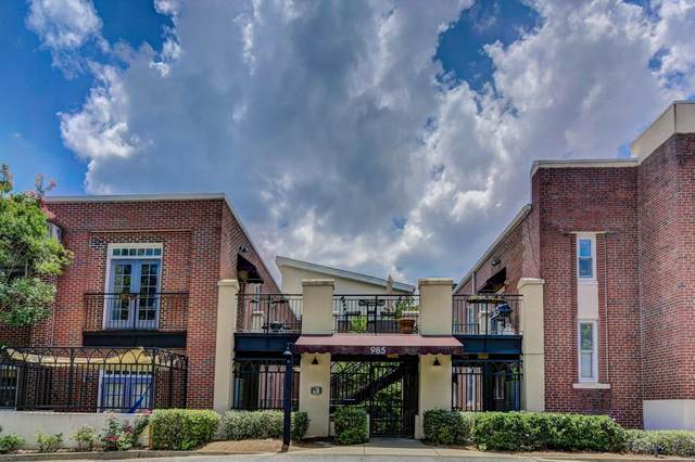 985 Ponce De Leon Avenue NE #401, Atlanta, GA 30306 (MLS #6814185) :: Maria Sims Group