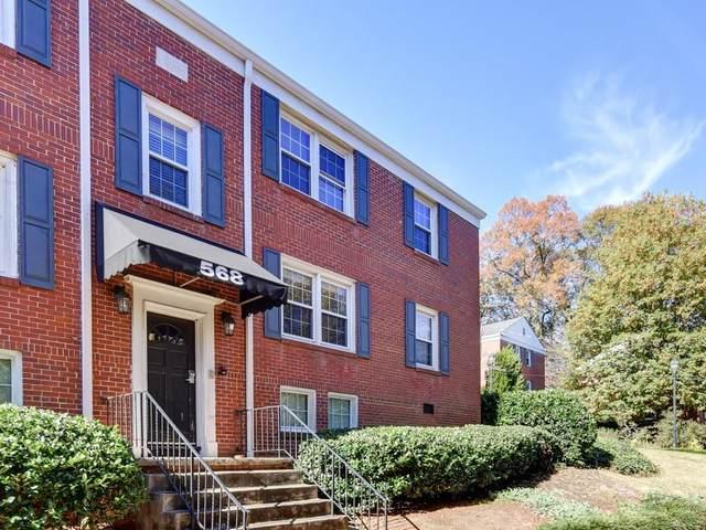 568 Goldsboro Road NE D, Atlanta, GA 30307 (MLS #6815608) :: KELLY+CO