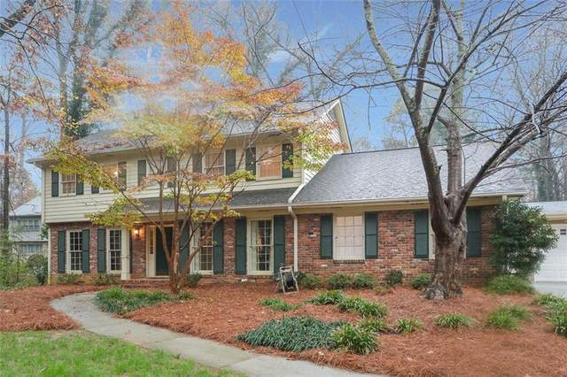 4443 Kellogg Circle, Dunwoody, GA 30338 (MLS #6817090) :: Scott Fine Homes at Keller Williams First Atlanta