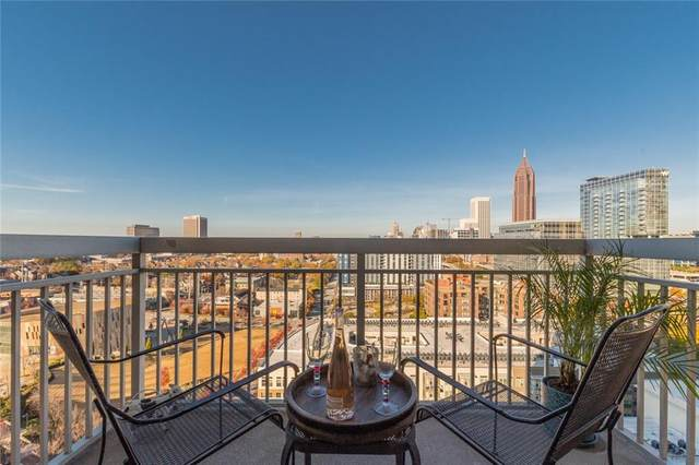 285 Centennial Olympic Park Drive NW #1605, Atlanta, GA 30313 (MLS #6817867) :: The Justin Landis Group