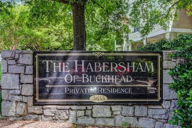 3655 Habersham Road NE B131, Atlanta, GA 30305 (MLS #6819831) :: North Atlanta Home Team